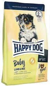 Сухой корм Happy Dog Baby Lamb & Rice 4 кг