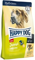 Сухой корм Happy Dog Junior Giant Lamb and Rice 10 кг