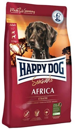 Сухой корм Happy Dog Sensible Africa 1 кг