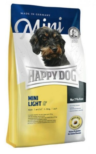 Сухой корм Happy Dog Mini Light Low Fat 4 кг