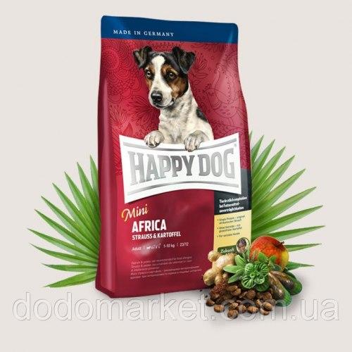 Сухой корм Happy Dog Mini Africa 4 кг