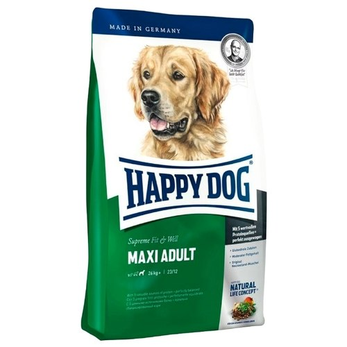 Сухой корм Happy Dog Supreme Fit&Well Maxi Adult 12,5 кг