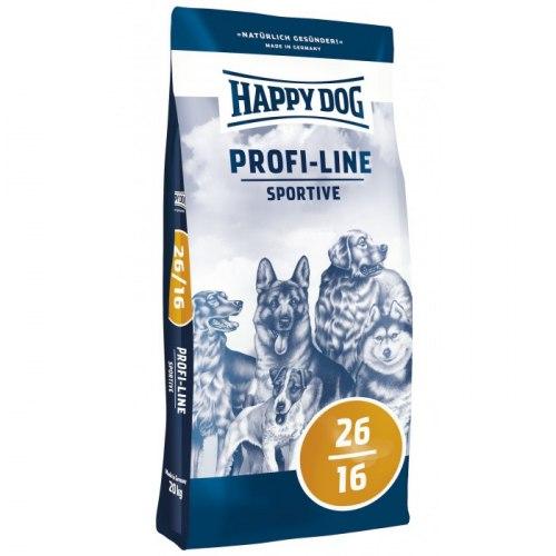 Сухой корм Happy Dog Profi-Line Krokette 26/16 Sportive 20 кг