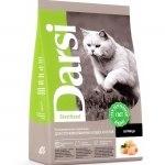 Сухой корм Дарси для взрослых стерилизованных кошек, курица 10 кг