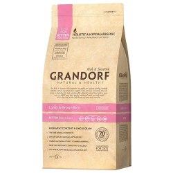Сухой корм НА РАЗВЕС Grandorf Kitten Lamb&Brown Rice, 500г