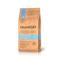 Сухой корм НА РАЗВЕС Grandorf Adult All Breeds White Fish&Brown Rice, 1 кг