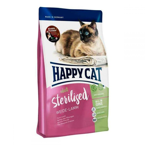 Сухой корм Happy Cat Sterilised Weide-Lamn НА РАЗВЕС 100 г