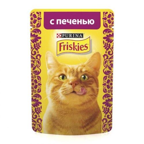 Консерва В НАЛИЧИИ Friskies с печенью в подливе, 85г