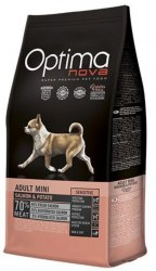 Сухой корм Optimanova DOG ADULT MINI SENSITIVE SALMON & POTATO 8 кг