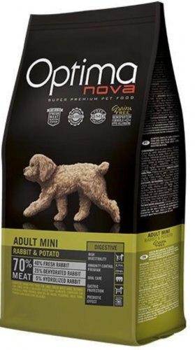Сухой корм Optimanova DOG ADULT MINI RABBIT & POTATO 8 кг