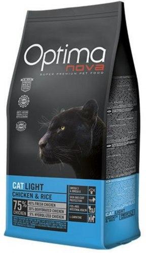 Сухой корм Optimanova CAT LIGHT CHICKEN & RICE 2 кг