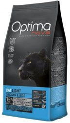 Сухой корм Optimanova CAT LIGHT CHICKEN & RICE 8 кг