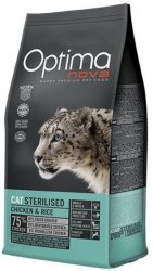Сухой корм Optimanova CAT STERILISED CHICKEN & RICE 8 кг