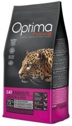 Сухой корм Optimanova CAT EXQUISITE CHICKEN & RICE 2 кг