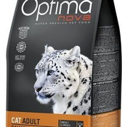 Сухой корм Optimanova CAT ADULT SALMON & RICE 8 кг
