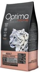 Сухой корм Optimanova CAT ADULT SALMON & POTATO 8 кг
