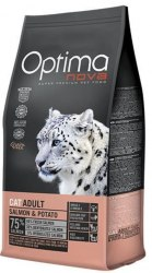 Сухой корм Optimanova CAT ADULT SALMON & POTATO 2 кг
