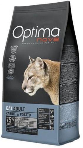 Сухой корм Optimanova CAT ADULT RABBIT 8 кг