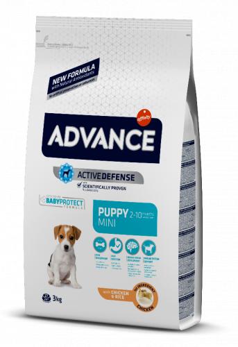 Сухой корм Advance Dog Puppy Protect Mini 3 кг