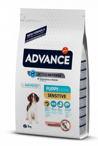 Сухой корм Advance Dog Puppy Sensitive 12 кг