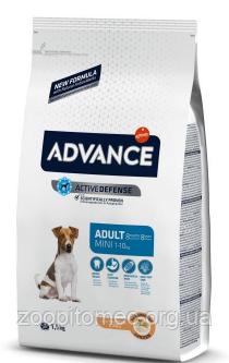 Сухой корм Advance Dog Mini Adult 7,5 кг