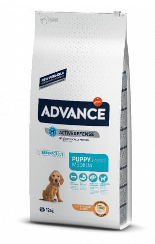 Сухой корм Advance Dog Puppy Protect Medium 3 кг