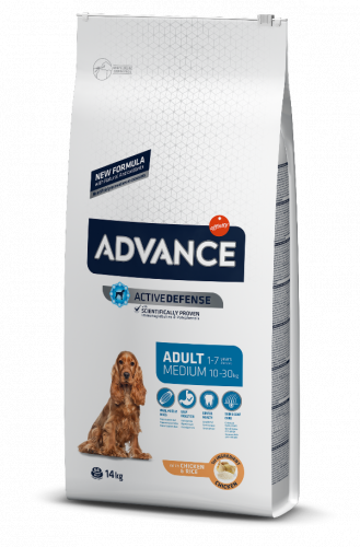 Сухой корм Advance Dog Medium Adult 3 кг