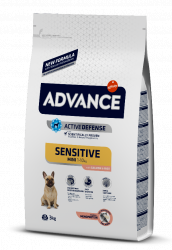 Сухой корм Advance Dog Mini Sensitive 7,5 кг