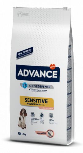Сухой корм Advance Dog Sensitive Salmon&Rice 12 кг