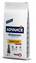 Сухой корм Advance Dog Sensitive Lamb&Rice 12 кг