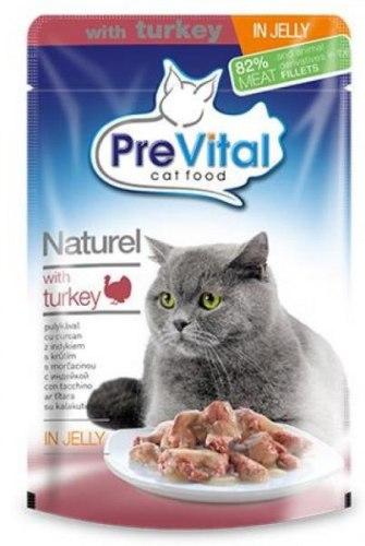Консерва Prevital Naturel с индейкой в желе, 85 г