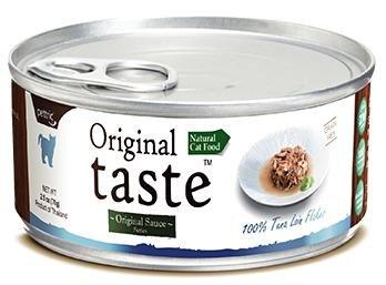 Влажный корм Pettric Original Taste/ Тунец в соусе 100%. 1*70г