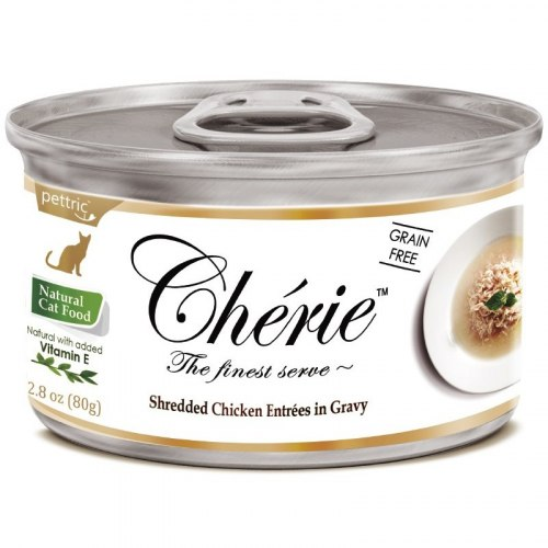 Влажный корм Pettric Cherie Курица в подливке 1шт*80г