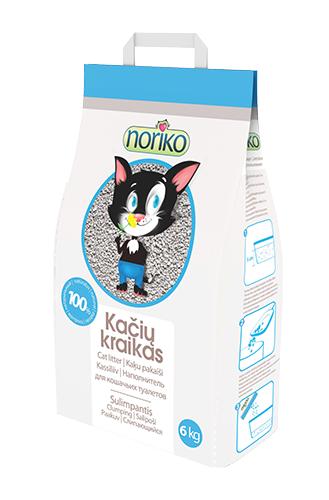 Наполнитель Noriko комкущийся 10 кг