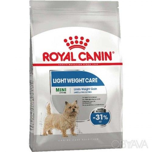 Сухой корм Royal Canin Mini Light Weight Care 1кг