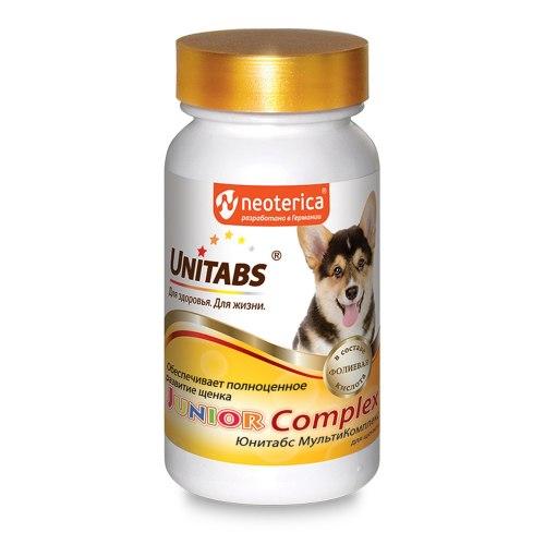 Витамины Unitabs JuniorComplex c B9 для щенков