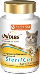 Витамины Unitabs SterilCat с Q10 для кошек