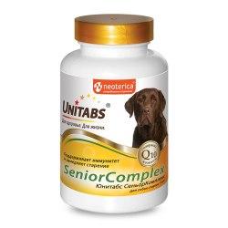 Витамины Unitabs SeniorComplex с Q10 для собак