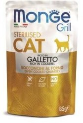 Консерва Monge Cat Grill Sterilised Cockerel, 85г