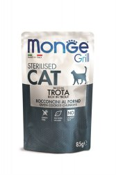 Консерва Monge Cat Grill Sterilised Trout