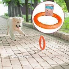 Кольцо В НАЛИЧИИ PitchDog для апортировки, оранжевый, диаметр 30 см