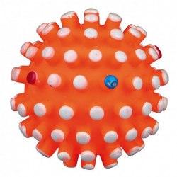 Игрушка В НАЛИЧИИ TRIXIE шарик-ежик с цветными шипами, со звуком, 6см