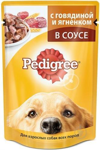 Консерва Pedigree® с говядиной и ягненком в соусе, 100 г