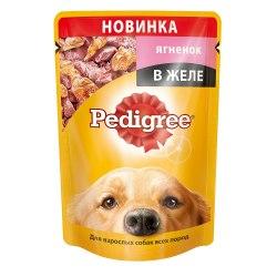 Консерва Pedigree® с ягненком в желе, 100г