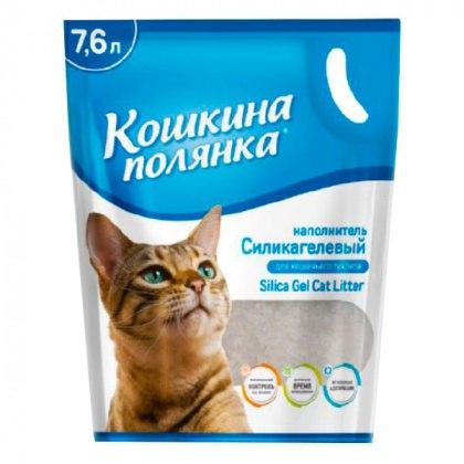 Наполнитель Кошкина Полянка с ароматом лаванды, 7,6 л