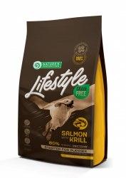 Сухой корм Nature's Protection Lifestyle Grain Free Salmon with krill Starter Adult НА РАЗВЕС 1 кг