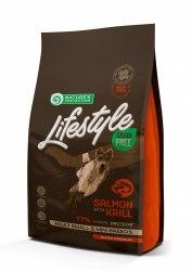 Сухой корм Nature's Protection Lifestyle Grain Free Salmon with krill SMALL AND MINI BREEDS НА РАЗВЕС1 кг
