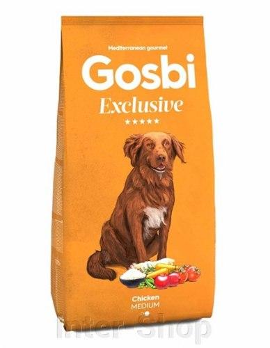 Сухой корм Gosbi EXCLUSIVE CHICKEN MEDIUM 3 кг
