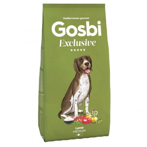 Сухой корм Gosbi EXCLUSIVE LAMB MEDIUM 3 кг
