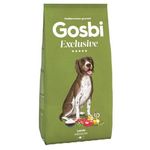 Сухой корм Gosbi EXCLUSIVE LAMB MEDIUM 12 кг